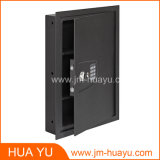 Hidden in Wall Safe Cabinet with Digital Lock and Mechanical Lock