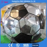 TPU Material Football Shape Inflatable Walk on Water Ball Water Zorb Ball