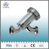 Sanitary Stainless Steel Threaded Y-Type Strainer