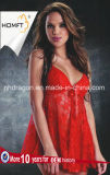 Export Pretty Sexy Lace Braces Night Gown Midnight Hot Sleepwear Erotic Lingerie