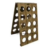 Decorative French Wood Wine Riddling Rack with Top Quality