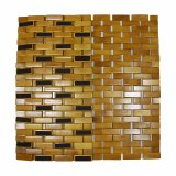 Natural Bamboo Block Bathtub Mat for Bathroom & Flooring