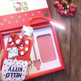fashion Cartonn Gifts Package Hello Kitty Mobile Power Bank with 5 Sets