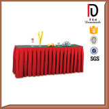 Dirty Resistant Polyester Table Skirting Br-Tc008