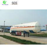 Vacuum Multilayer Insulation Cryogenic Tank Semi Trailer