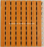 Wooden Grooved Acoustic Panel Ceiling