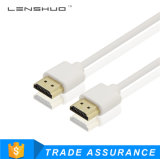 High Quality Audio and Video HDMI Cable Support 1080P 4k for Telephone