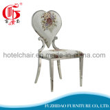New Design Modern Restaurant Furniture Dining Chair with Fabric Face