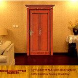 Red Cheery European Style Wood Wholesale Door (GSP2-025)