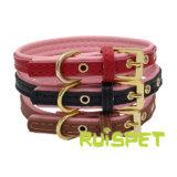 Pet Supply Leather Pet Dog Collar Cat Leash