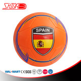Spain Orange Color TPU Play Soccer Ball