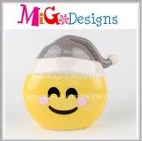 Best Seller Fashion Xmas Gifts Ceramic Emoji Money Bank