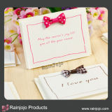 Paper Party Invitation with Beautiful Printing