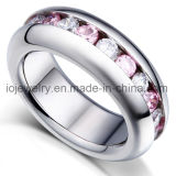 Fashion Ring with Zircon Stone