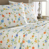 Quilted Bedroom Sheet Set 100% Cotton/Polyester Bedding Sets (sheet/ quilt cover/pillowcases)