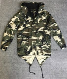 High Quality Outdoor Amy Camo Adult Men Jacket with Fashion Design