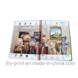 Spiral Binding Colorful Child Book Printing Service (jhy-343)