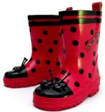 China Ladybug Rain Boots (K0027) - China Children Rubber Boots ...