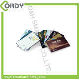 2017 Newest CMYK Prinitng PVC Contactless Smart Card with Magnetic Stripe