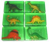 Dino Transparent Handmade Beauty Bar Toilet Soap for Children Bathing