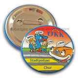 Promotion Cartoon Tin Badge Offset Printing Badge (HY-MKT-040)
