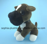 Soft Plush Dog Toy with OEM Gesture and Color