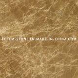 Natural Emperador Light Stone Marble for Tile, Countertop, Slab
