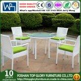 Patio Garden Aluminum PE Outdoor Rattan Dining Chair Set (TG-1652)