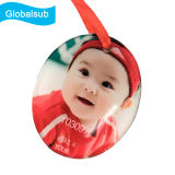 Printable Acrylic Photo Ornaments Round Tags for Sublimation