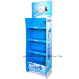 Customized Store Corrugated Cardboard Baby′s Products Floor Display Stand