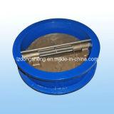 Ductile Iron Body Bronze Disc Double Disc Check Valve