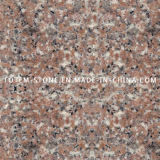 G687 Peach Red Stone Granite Floor for Kitchen Tile / Stairs
