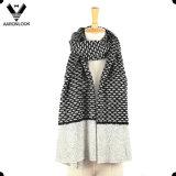 Winter Warm Jacquard Thick Knitting Pattern Scarf