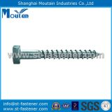Hex Wood Screws with DIN571 Zinc Plated