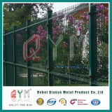 PVC Coated Welded Wire Mesh Fence/ Metal Garden Welded Wire Fence Panel