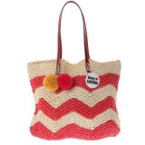 Fashion Paper Straw Bag, Paper Tote Bag, Straw Beach Bag OEM Order Is Available