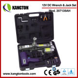 12V DC Impact Wrench & Electrical Jack Set