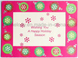 Special Glittered Holiday Card/ Greeting Card/Birthday Card