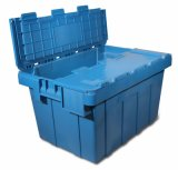 High Quality Transporting Plastic Containers with Attached Lid (Pk64315)