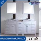 Simple Design Solid Wood Floor Standing Bathroom Vanity Cabinet