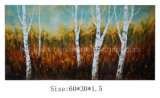 Handmade Landscape Tree Oil Painting (LH-700534)