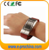 Leather Wristband Laser Logo USB Pendrive for Promotion (EL005)