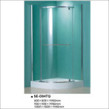 Shower Enclosure Room with Quadrant Tray