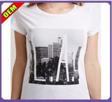 Fashion Sexy Cotton Print T-Shirt for Women (W248)