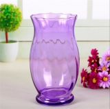 Hot Sell Colorful Decoration Glass Flower Vase