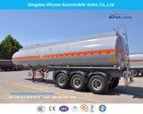 Single Tire 3axle 45000L Fuel Tanker with Fuwa/BPW Axle