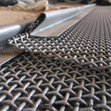 Black / Red High Tensile Strength and Toughness Crimped Wire Mesh