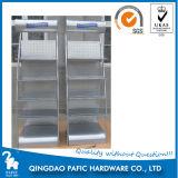 Arch Frame Stand Steel Powder Coating Display Shelf