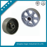 Solid Cast Wheel with Sand Casting