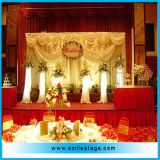 2015 High Quality Portable Stage Decoration for Wedding/ Event